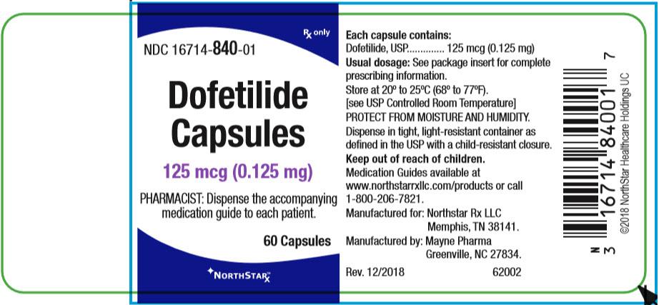 PRINCIPAL DISPLAY PANEL - 0.125 mg Capsule Bottle Label