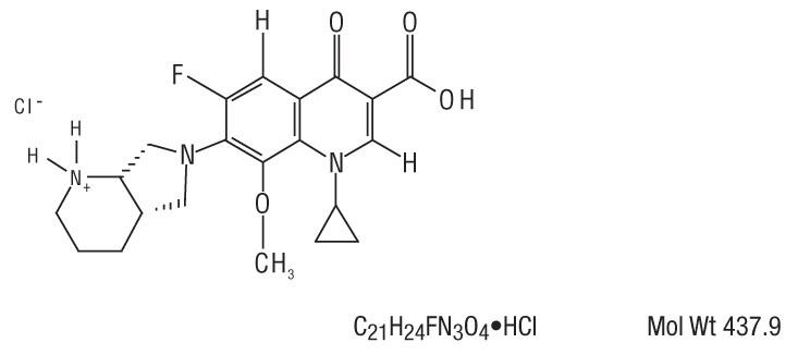 moxifloxacin-structure