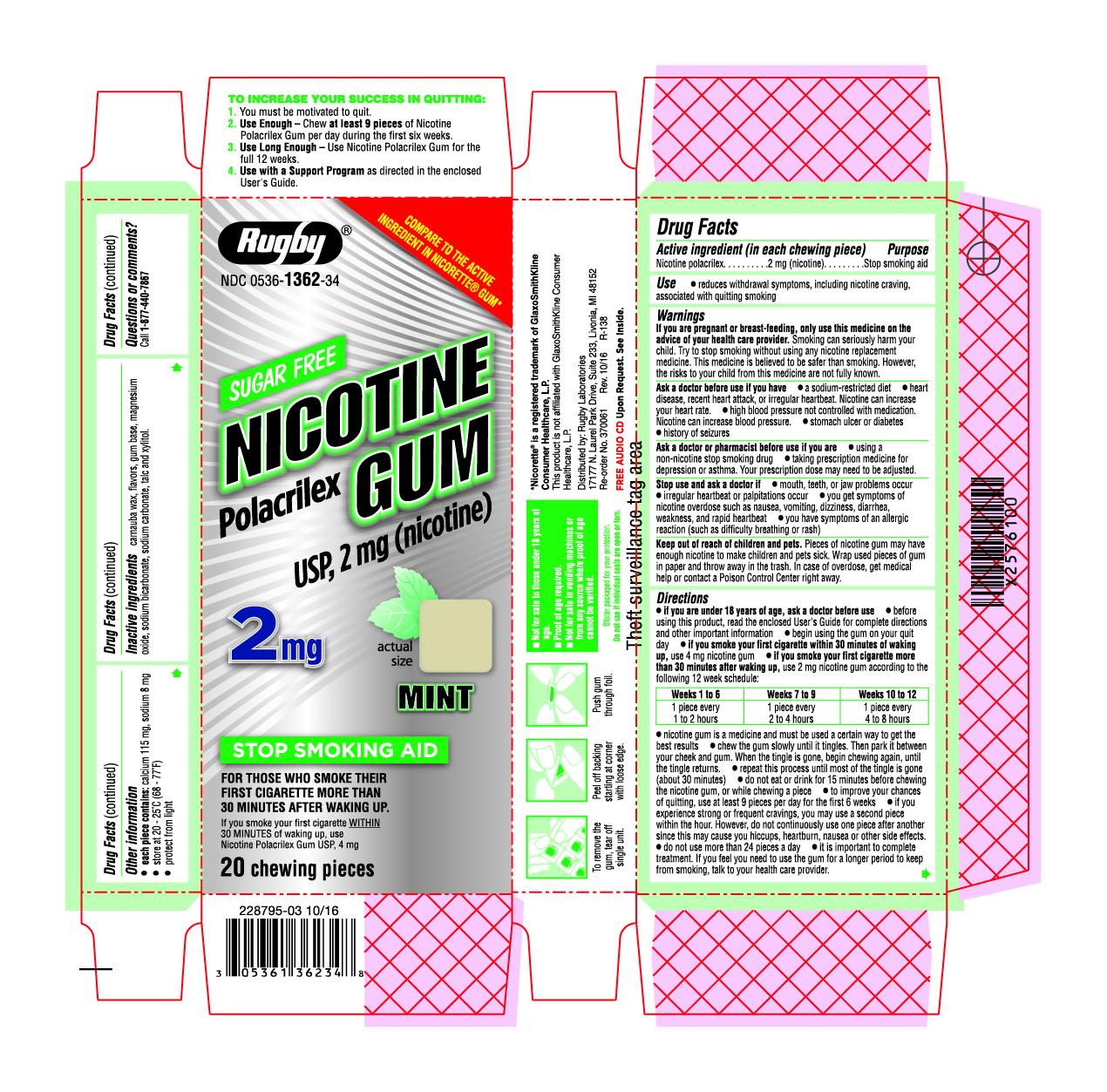 2 mg 20 count MINT