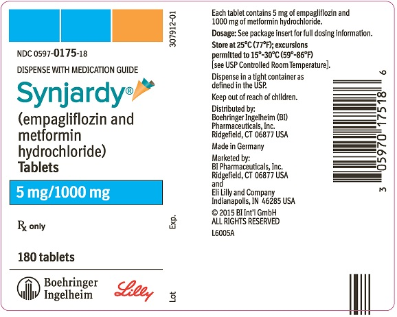 Synjardy 5 mg/1000 mg