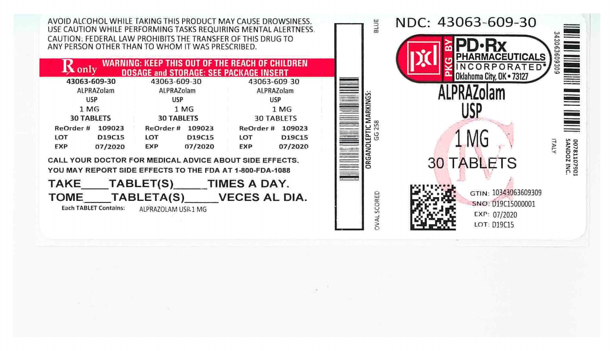 43063609 Label