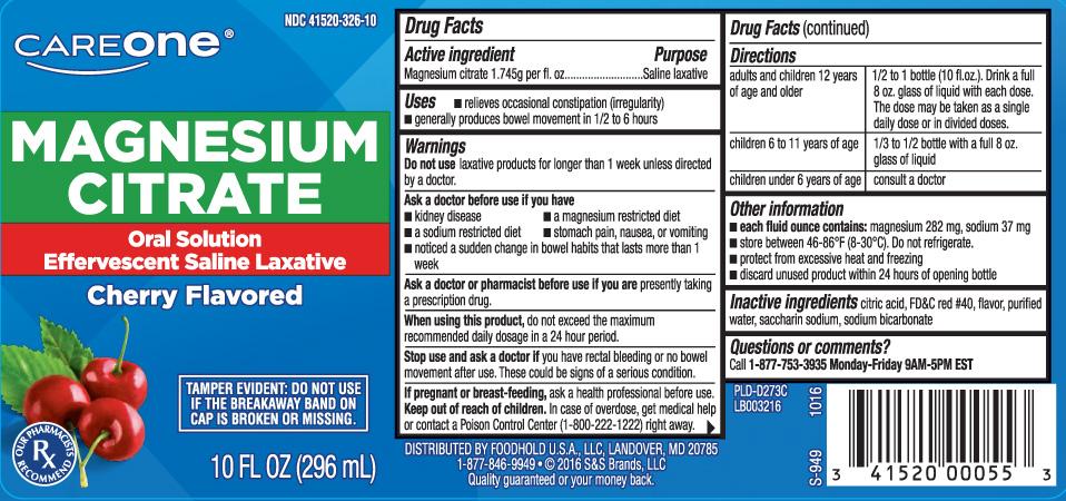 Magnesium Citrate 1.745g per fl. oz.