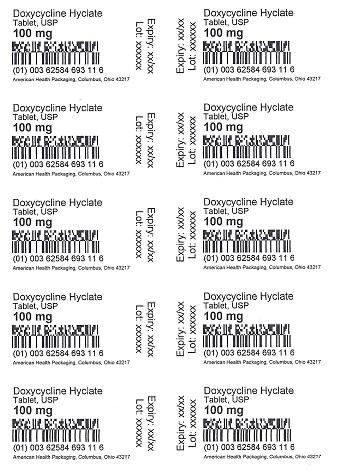 100 mg Doxycycline Hyclate Tablet Blister
