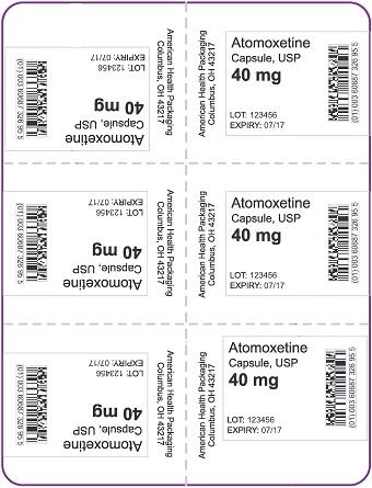 40 mg Atomoxetine Capsule Blister