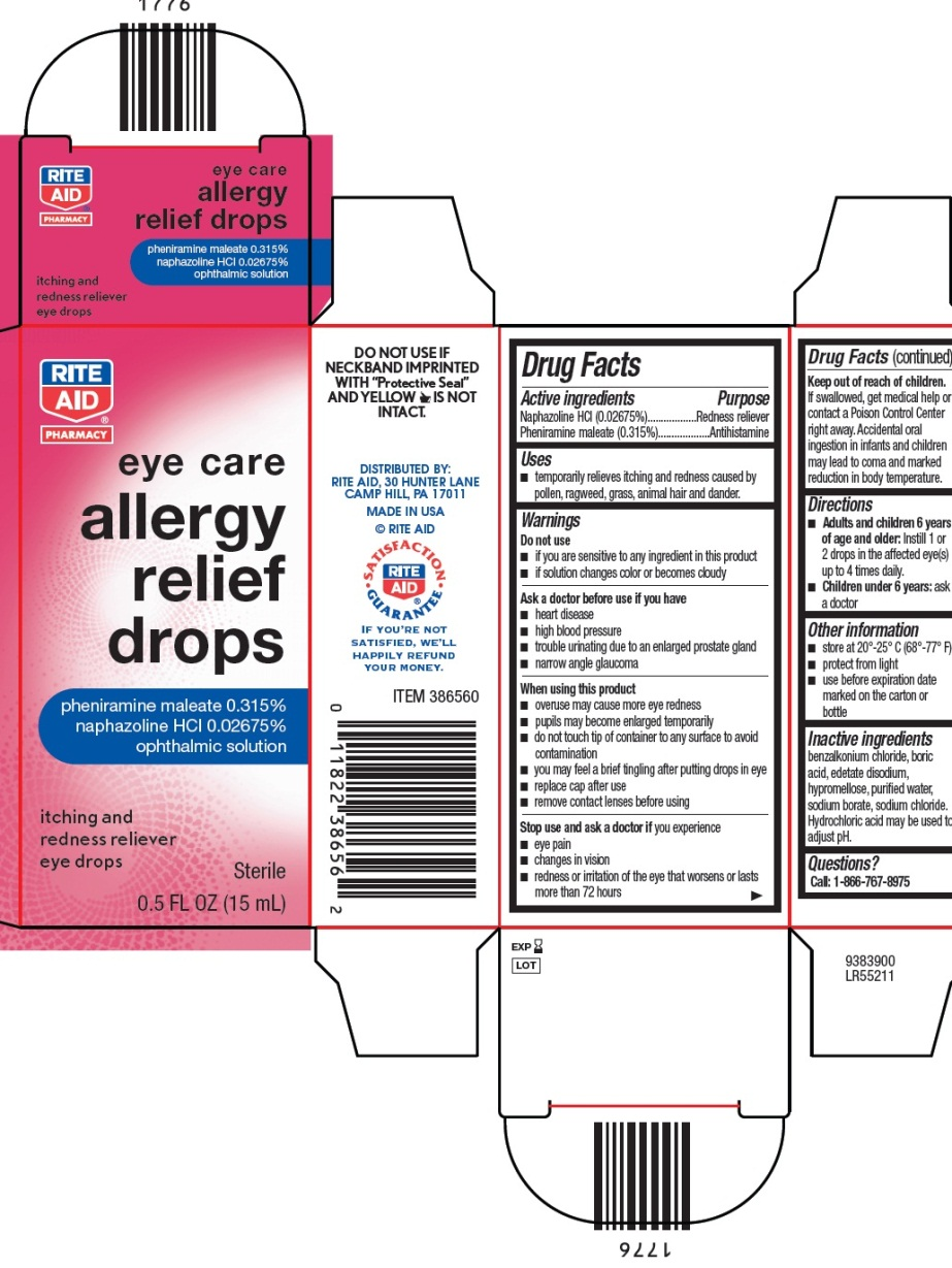 11822-3865 Allergy Relief Drops