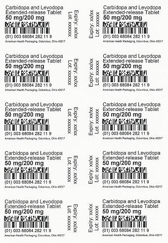 50mg/200mg Carbidopa/Levodopa ER Tablet Blister
