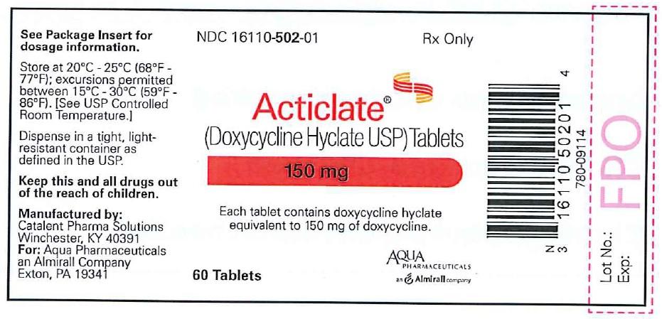 150 mg Tablet 60-count Bottle Label