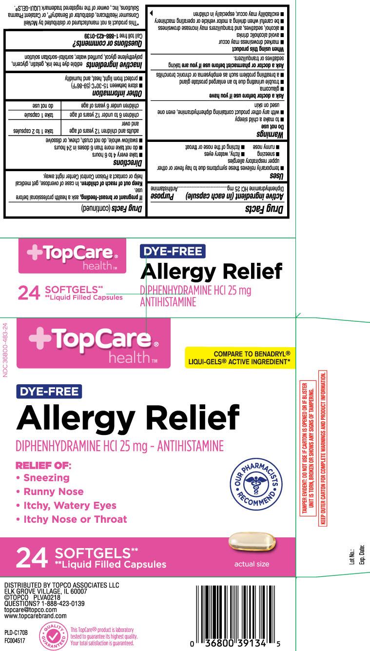 Diphenhydramine HCI 25 mg