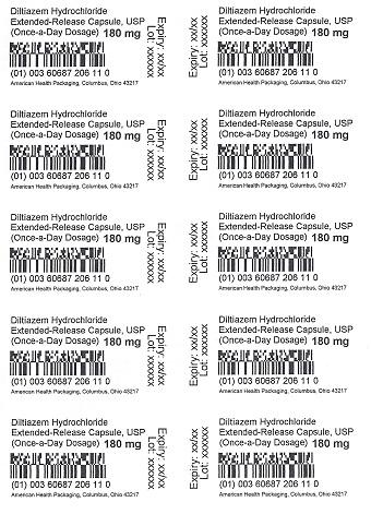 180 mg Diltiazem HCl ER Capsule Blister
