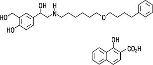 Salmeterol chemical structure