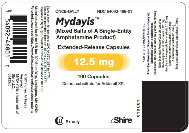 PRINCIPAL DISPLAY PANEL - 12.5 mg Capsule Bottle Label
