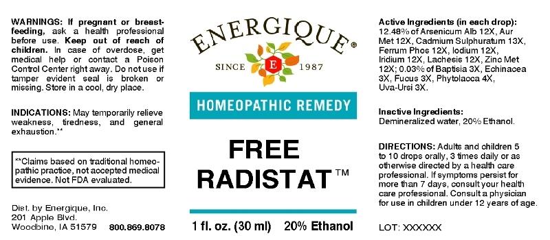 Free Radistat