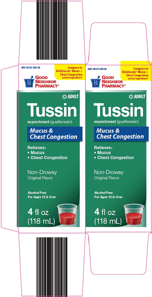 Good Neighbot Pharmacy Adult Tussin image 1