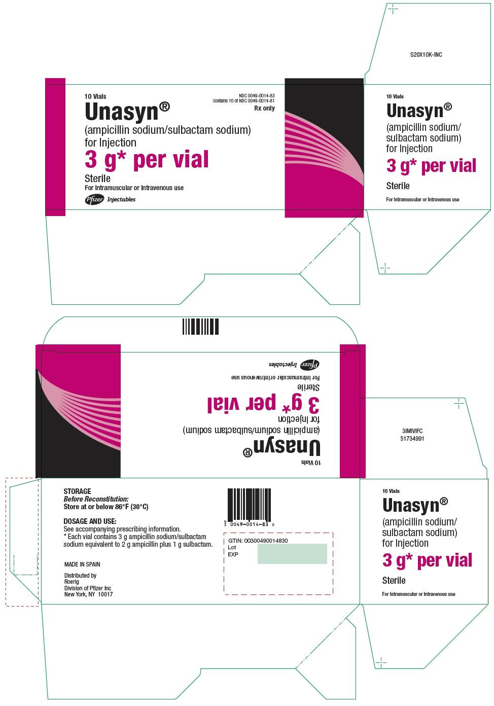 PRINCIPAL DISPLAY PANEL - 10 x 3 g Vial Carton