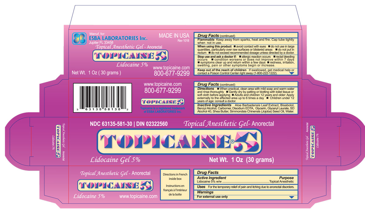 Topicaine 5 30 g outer carton update