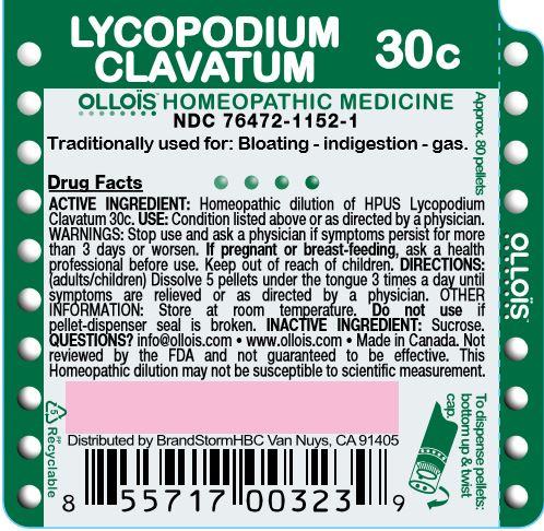 Lycopodium Clavatum 30c