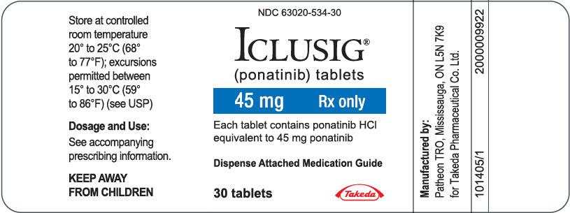 PRINCIPAL DISPLAY PANEL - 45 mg Tablet Bottle Label