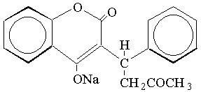 Warfarin Structural Formula