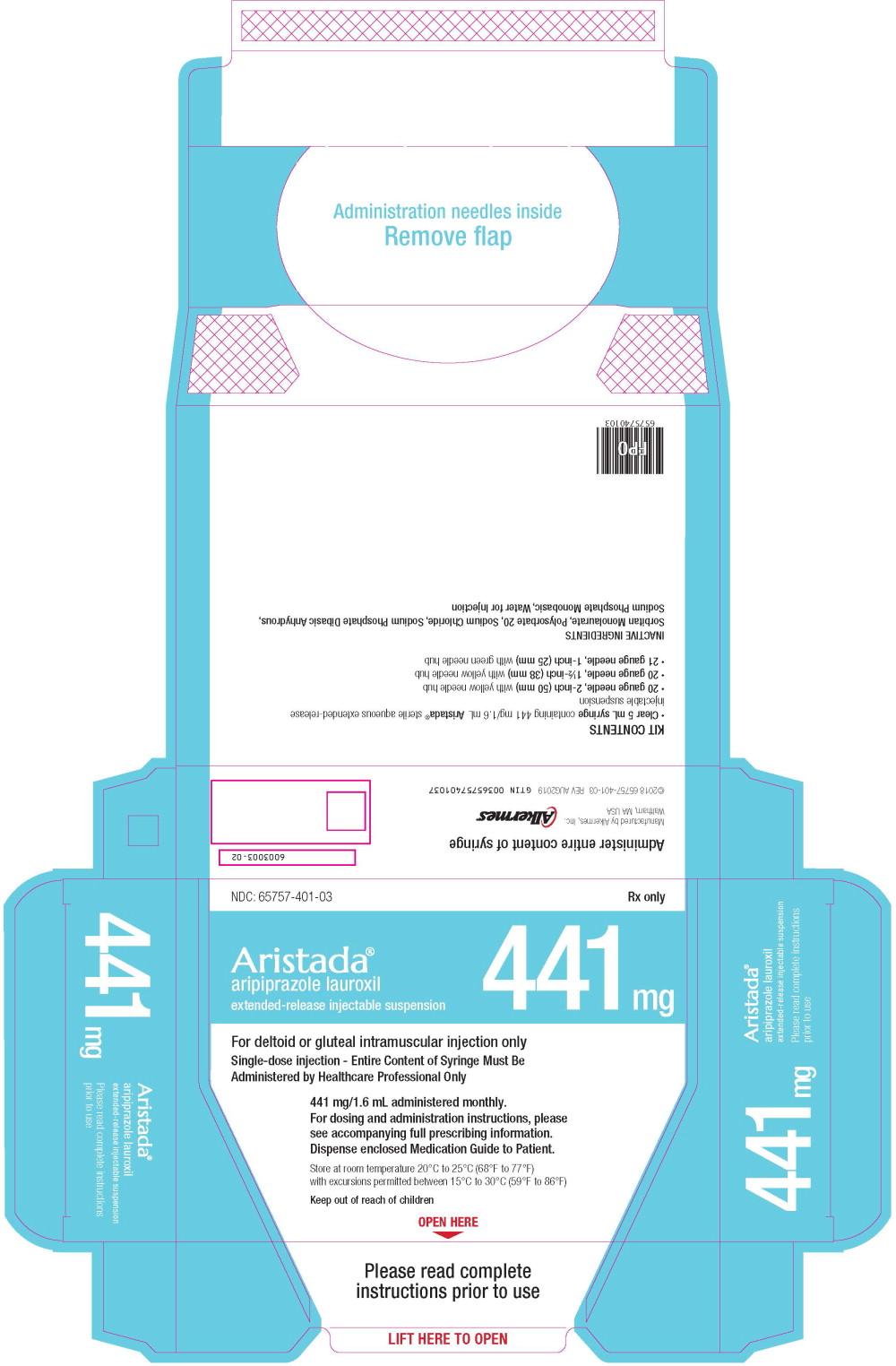 Principal Display Panel - 441 mg/1.6 mL Carton Label