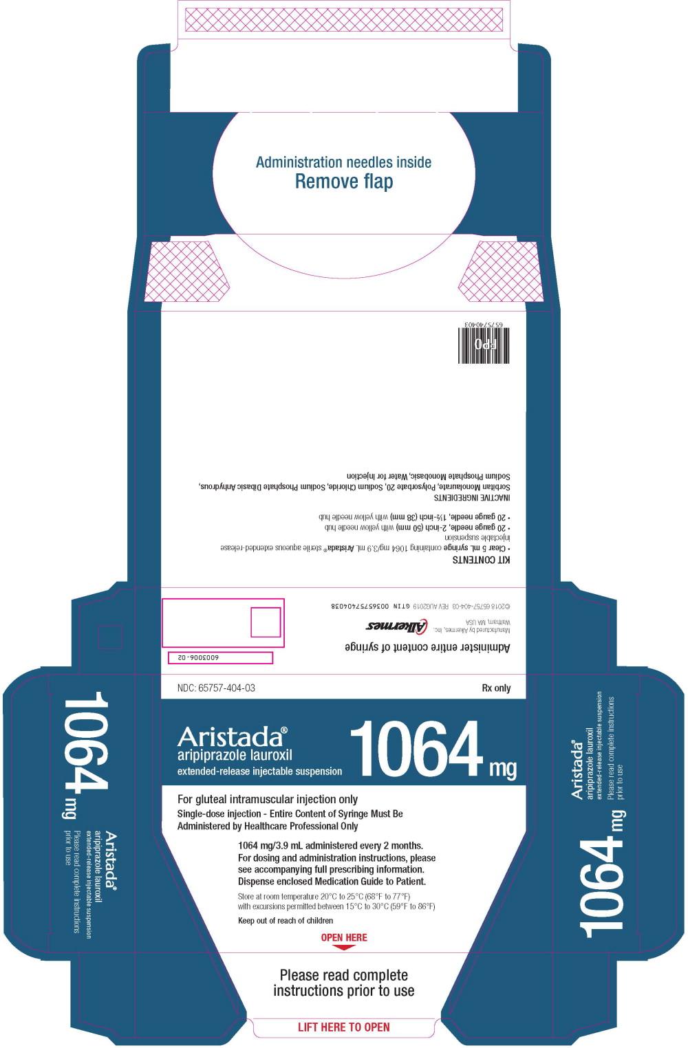 Principal Display Panel - 1064 mg/3.9 mL Carton Label