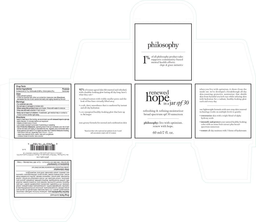 Principal Display Panel - Renewed Hope in a Jar Carton Label