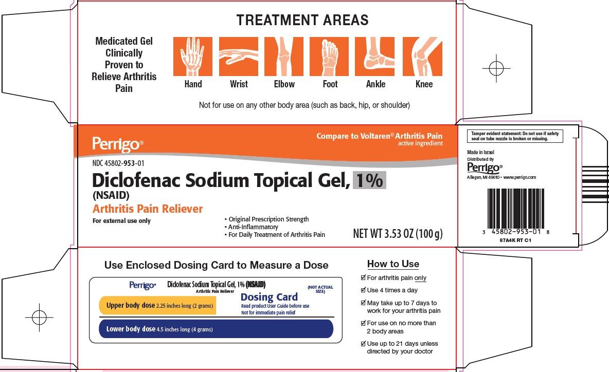 Diclofenac Sodium Topical Gel, 1% Carton Image 1