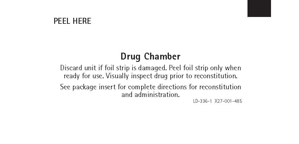 Drug Chamber Label