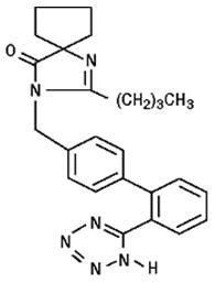 Structure - Irbesartan
