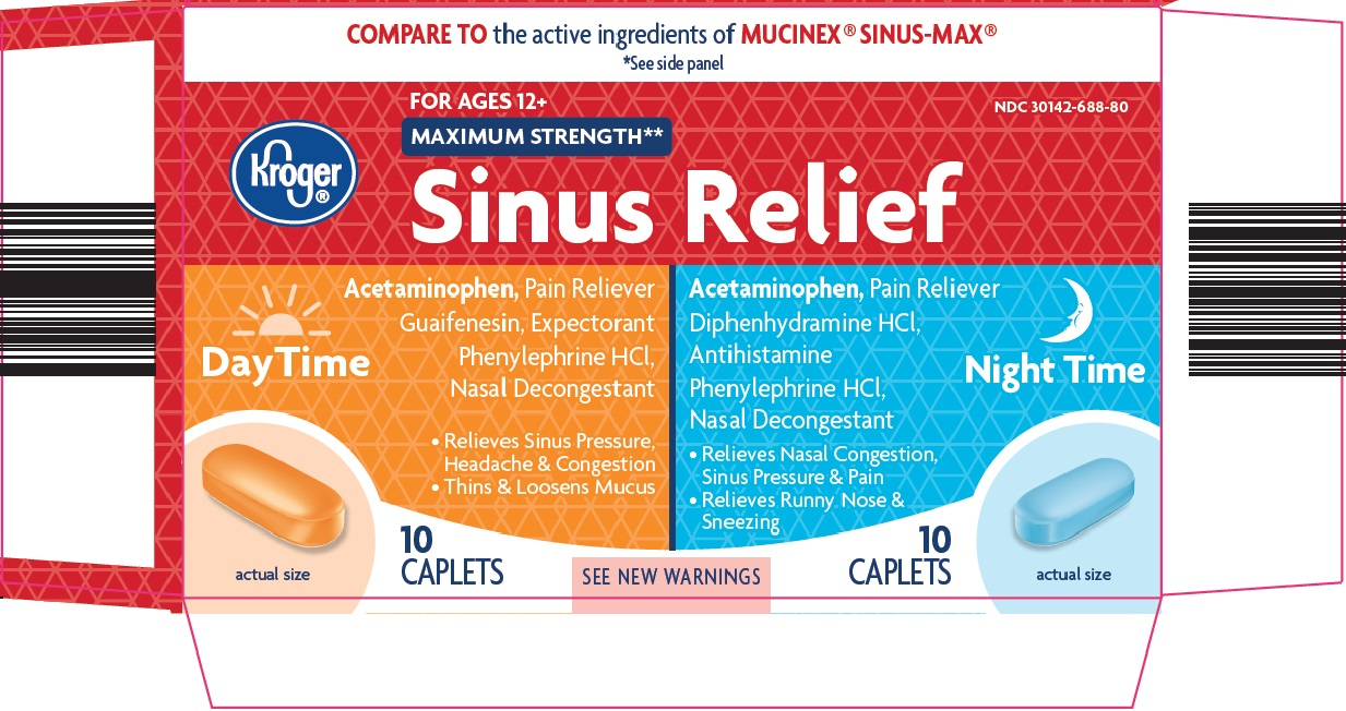 Kroger Sinus Relief Day Time Night Time image 1