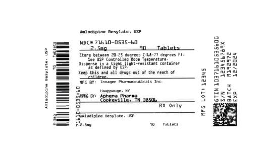 Bottle Label 2.5 mg
