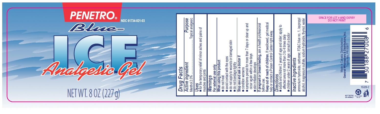Penetro Blue Ice Analgesic Gel