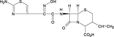 cefdinir-structure
