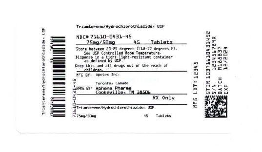 Bottle Label 75 mg/50 mg