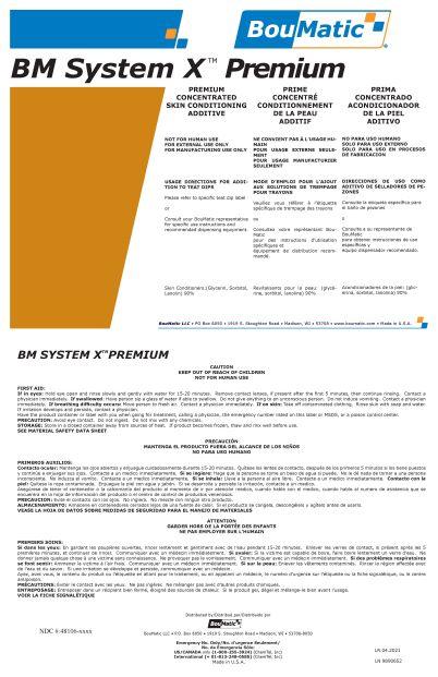 BouMatic Syst X Premium