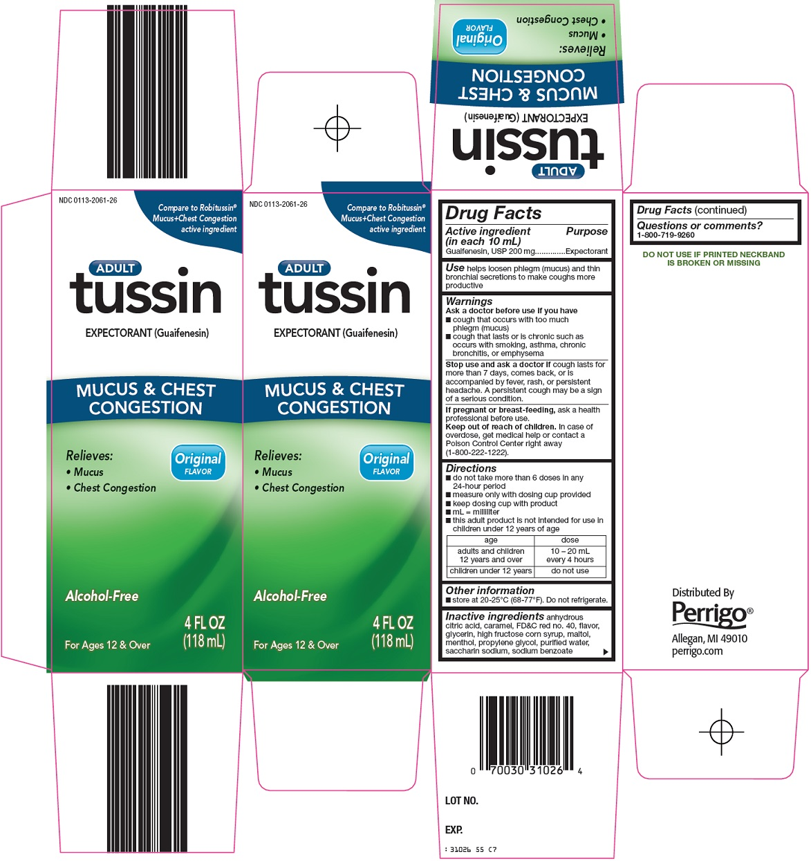 Tussin Image