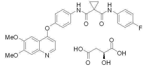 image of chemical structure of COMETRIQ