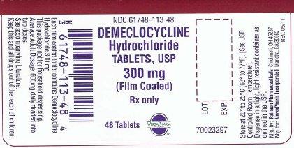 Principal Display Panel-300 mg Tablet Bottle Label