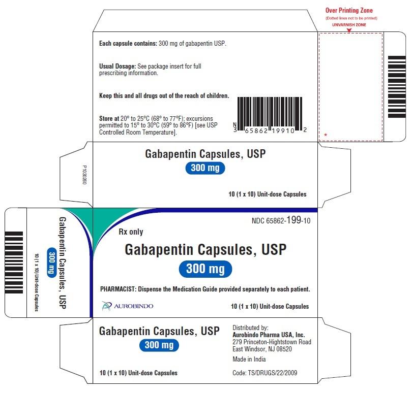 PACKAGE LABEL-PRINCIPAL DISPLAY PANEL - 300 mg Blister Carton 10 (1 x 10 Unit-dose)
