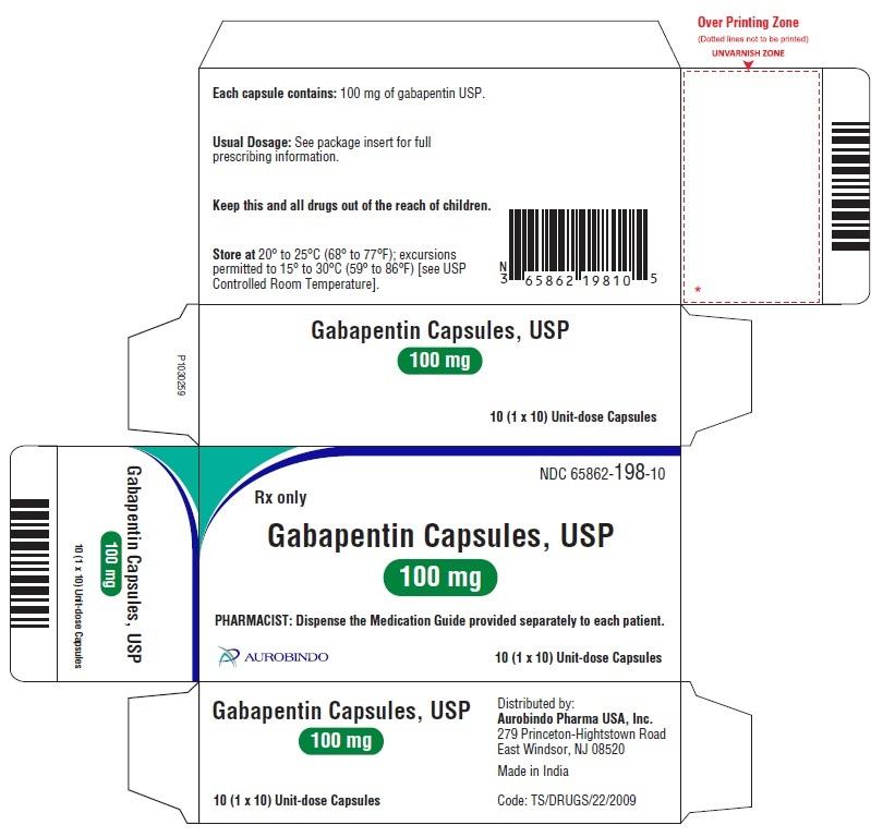 PACKAGE LABEL-PRINCIPAL DISPLAY PANEL - 100 mg Blister Carton 10 (1 x 10 Unit-dose)