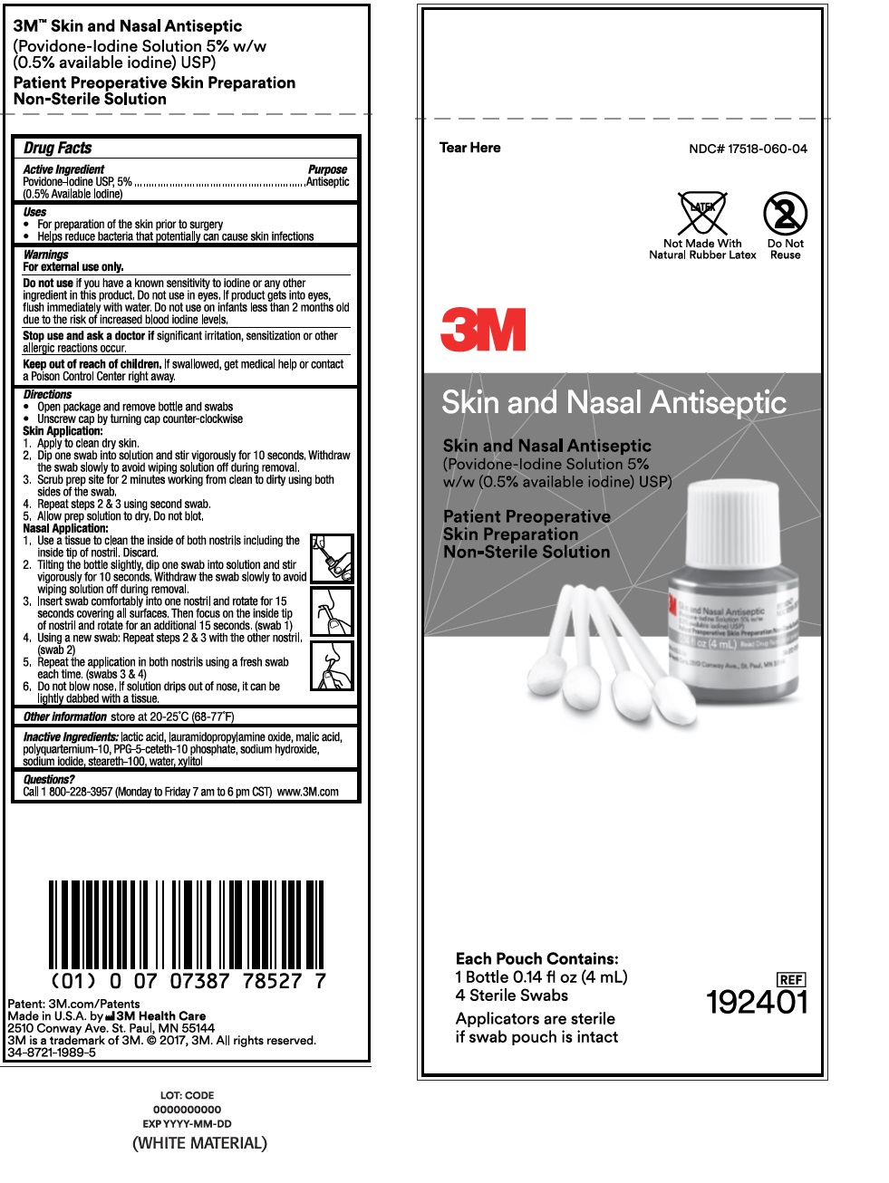 Principal Display Panel – Pouch Label