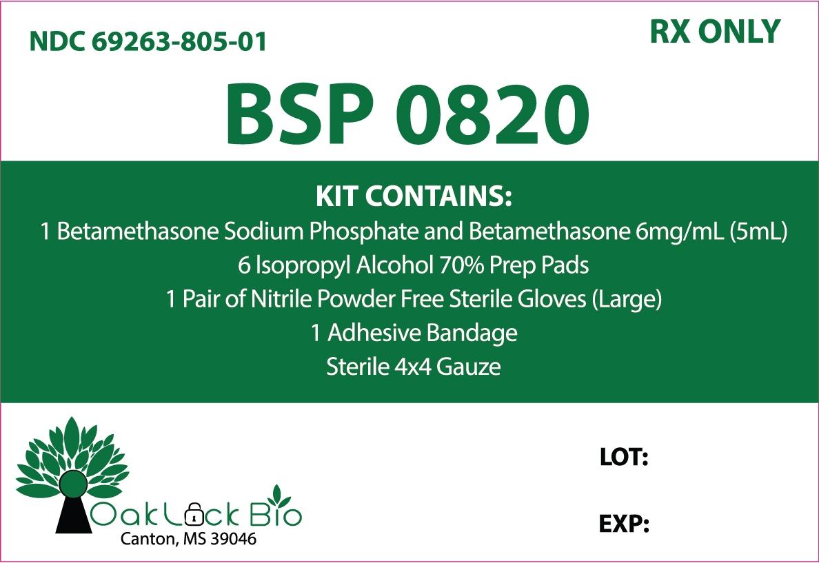 Principal Display Panel – Kit Label
