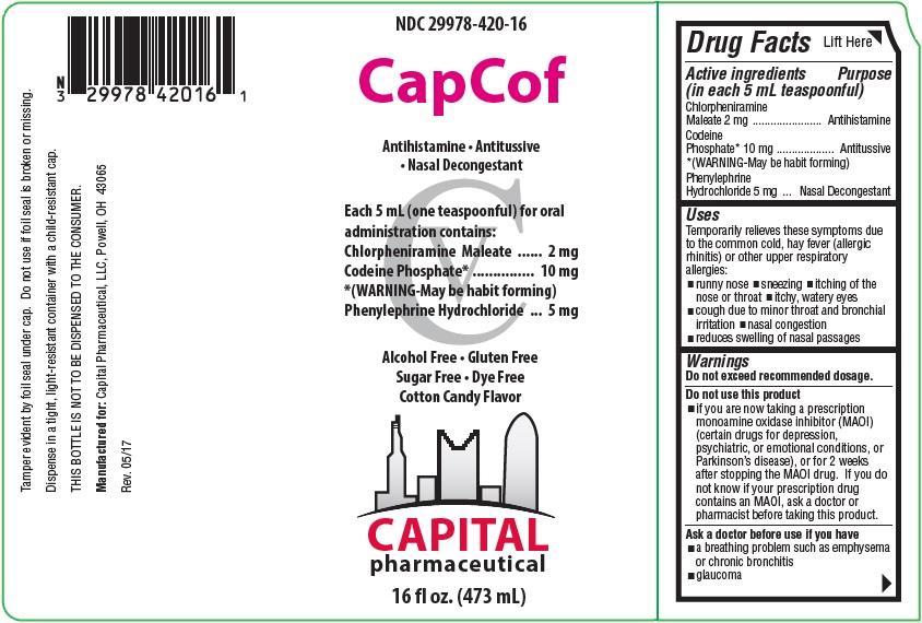 CapCof Label 1