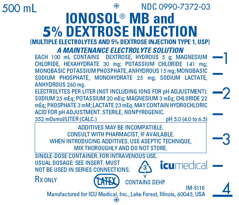PRINCIPAL DISPLAY PANEL - 500 mL Bag Label