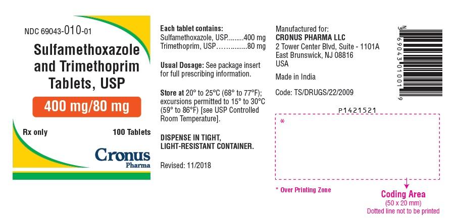 PACKAGE LABEL-PRINCIPAL DISPLAY PANEL - 400 mg/80 mg (100 Tablet Bottle)
