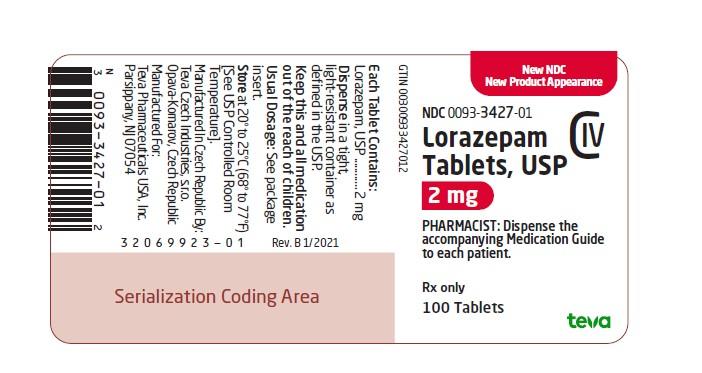label 2 mg 100 tablets