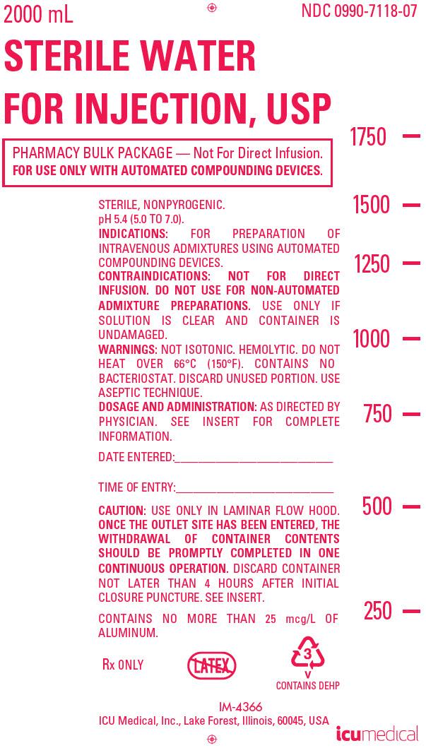 PRINCIPAL DISPLAY PANEL - 2000 mL Bag Label