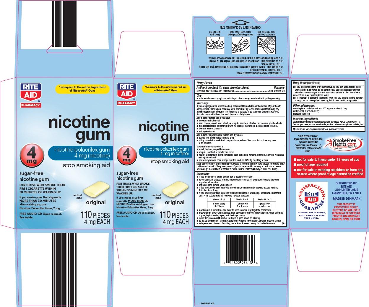 nicotine gum image