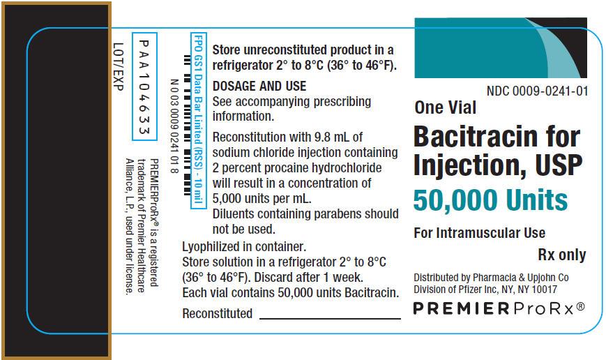 PRINCIPAL DISPLAY PANEL - 50,000 Unit Vial Label
