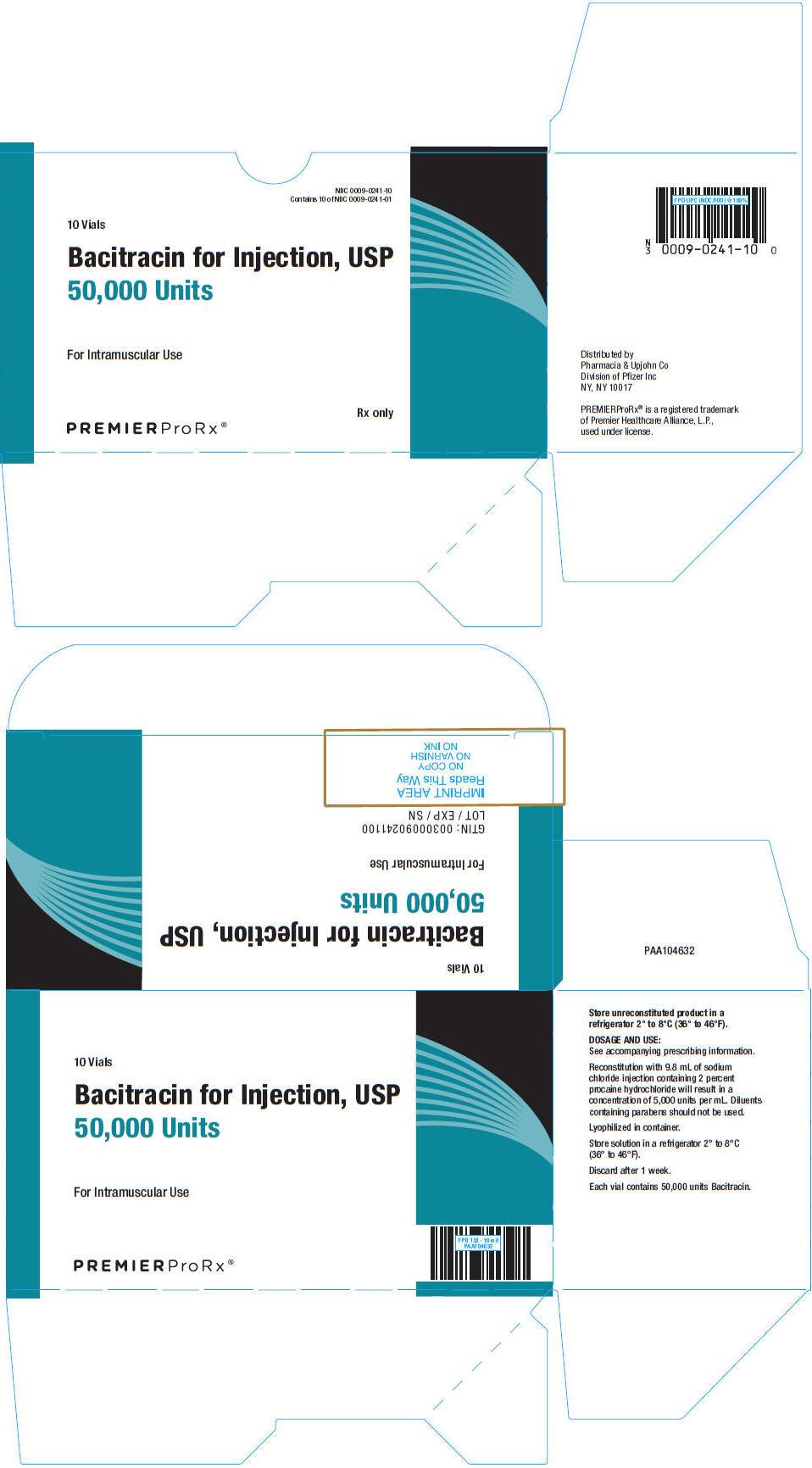 PRINCIPAL DISPLAY PANEL - 10 Vial Carton