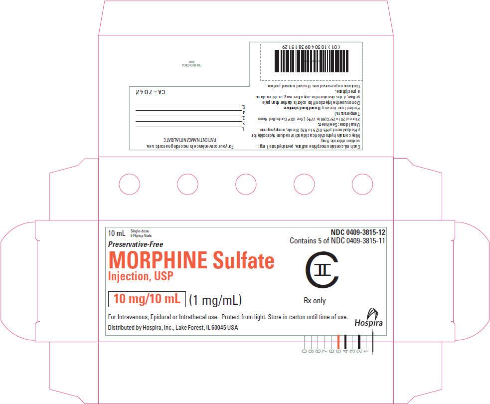 PRINCIPAL DISPLAY PANEL - 10 mg/10 mL Vial Carton